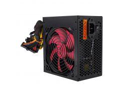 Блок питания Logicpower ATX-500W, 12см, 4 SATA, OEM, Black, (без кабеля питания)