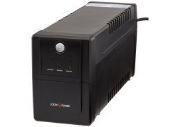 ИБП LogicPower LPM-700VA-P, Lin.int., AVR, 2 x евро, пластик