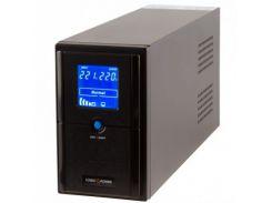 ИБП LogicPower LPM-L1250VA, Lin.int., AVR, 3 x евро, LCD, металл