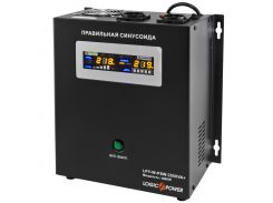 ИБП LogicPower LPY-W-PSW-2500VA+(1800Вт)10A/20A, Lin.int., AVR, 2 x евро, USB, LCD, металл