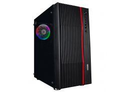 Корпус 1stPlayer F5-R1 Color LED Black без БП