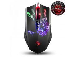 Мышь A4Tech A60A Bloody Black USB