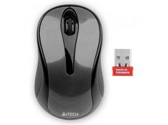 Мышь беспроводная A4Tech G3-280N Grey USB V-Track