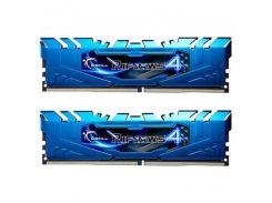 Модуль памяти DDR4 2x8GB/3000 G.Skill Ripjaws 4 Blue (F4-3000C15D-16GRBB)