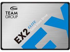 "Накопитель SSD 512GB Team EX2 2.5"" SATAIII SLC (T253E2512G0C101)"