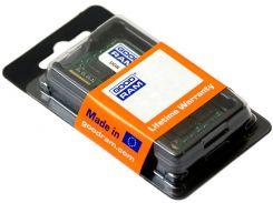 Оперативная память So-Dimm GoodRam DDR3 8GB 1600MHz (GR1600S364L11/8G) (6105425)