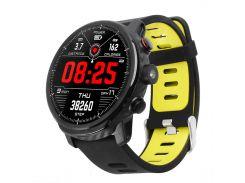 Умные часы Blaze Light со спортивными режимами и влагозащитой Черно-зеленый