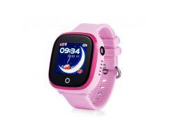 Детские смарт-часы Wonlex GW400X с Gps трекером Розовый