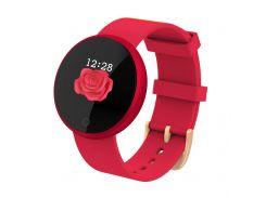 Умный фитнес браслет Lemfo B36 для женщин Красный
