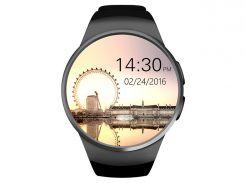 умные часы king wear kw18 с поддержкой sim-карты черный