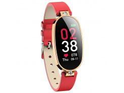 Умные часы фитнес браслет Finow B79 с измерением давления и ЭКГ Красный (ftfinb79)