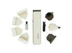 Аккумуляторный Триммер для Стрижки Волос Тела, Бороды, Носа, Ушей Gemei Gemei 586 4в1 (10030)