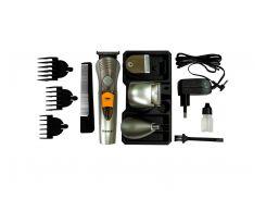 Аккумуляторный Триммер для Стрижки Волос Тела, Бороды, Носа, Ушей, Головы Kemei А 580 7в1 (10127)