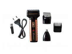 Электрическая бритва-триммер для бороды 3в1 Gemei (10979)