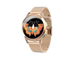 Смарт-часы Kingwear KW10 PRO для женщин версия 2020 Золотые (37-1)