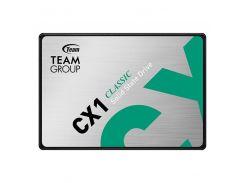 "Накопитель SSD 480GB Team CX1 2.5"" SATAIII 3D TLC (T253X5480G0C101)"