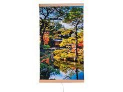 Обогреватель-картина инфракрасный настенный ТРИО 400W 100 х 57 см сад Киото (gr_010019)