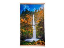 Обогреватель-картина инфракрасный настенный ТРИО 400W 100 х 57 см водопад с мостиком (gr_010240)