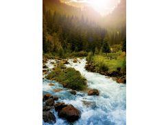 Обогреватель-картина инфракрасный настенный ТРИО 400W 100 х 57 см горная река (gr_010025)