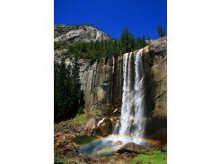 Обогреватель-картина инфракрасный настенный ТРИО 400W 100 х 57 см водопад (gr_010012)