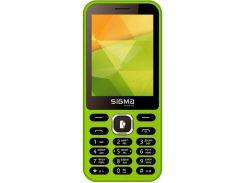 Sigma mobile X-style 31 Power Dual Sim Green
