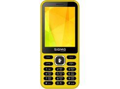 Sigma mobile X-style 31 Power Dual Sim Yellow