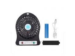 Портативный вентилятор Mini Fan Portable usb Черный