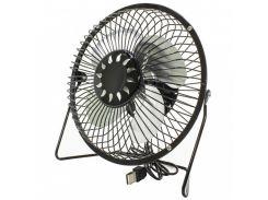 Настольный мини-вентилятор Fan Mini Sanhuai A816 Black USB (3364-9870a)