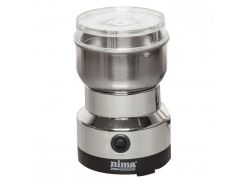 Кофемолка электрическая кухонная роторная с ножами из нержавеющей стали Nima NM-8300 150W Silver (112152)