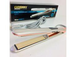 Утюжок выпрямитель плойка для волос с дисплеем Geemy GM-407 Gold (hub_bCvZ74092)