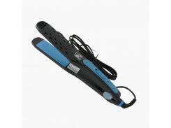 Выпрямитель для волос Promotec с керамическим покрытием 50 Вт Черно-синий (PM-1232)