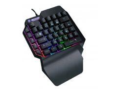 Игровая проводная клавиатура с подсветкой Sundy PUBG Mobile Keyboard G01 USB Black
