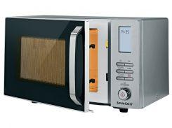 Микроволновая печь с грилем SilverCrest 1000 Вт Серебристый (01503)