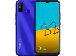 Смартфон Tecno Spark 6 Go (KE5j) 2/32GB Dual SIM Aqua Blue