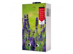 Газовая Колонка Aquatronic Дымоходная Jsd20-Ag108 10 Л Стекло (Цветок)