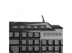 Клавиатура USB Crown CMK-5020 черная (CMK-5020 Black)
