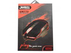 Мышь USB JEDEL GM770 Black