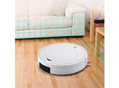 Робот пылесос Ximei XM28 полотёр умный подметающий робот Белый