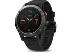 Смарт-часы Garmin Fenix 5 Slate Gray with Черный Band (010-01688-00)