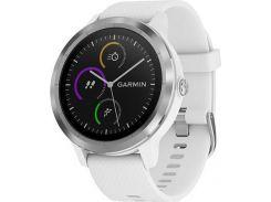 Смарт-часы Garmin Vivoactive 3 Белый with Stainless Hardware (010-01769-22)