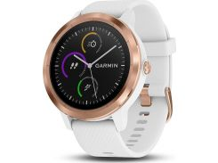 Смарт-часы Garmin Vivoactive 3 Белый with Rose Gold Hardware Белый (010-01769-07)