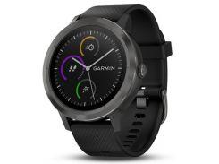 Смарт-часы Garmin Vivoactive 3 Черный with Slate Hardware (010-01769-12)
