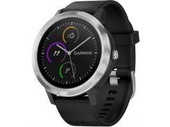 Смарт-часы Garmin Vivoactive 3 Черный with Stainless Hardware (010-01769-02)