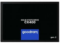 SSD накопитель Goodram CX400 128GB GEN.2 SATAIII TLC (SSDPR-CX400-128-G2) (6637928)