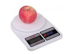 Ваги кухонні Electronic Kitchen SF-400 до 7 кг Білі