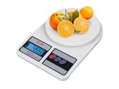 Ваги кухонні Electronic Kitchen SF-400 до 10 кг Білі