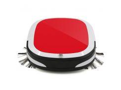 Робот пылесос Ximei Vacuum Cleaner WY-502 16001 плотер для влажной и сухой уборки с микрофиброй Красный