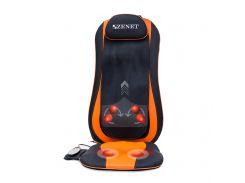 Массажная накидка Zenet ZET-854 Черно-оранжевая