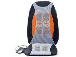 Массажная накидка Zenet ZET-773 Серый с оранжево-черным
