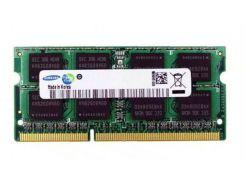 Оперативная память Samsung SODIMM DDR3-1600 8Gb PC3L-12800S (M471B1G73QH0-YK0)